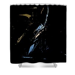 Shower Curtain featuring the photograph Cessna Views I by Paul Job