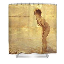 Chabas: September Morn Shower Curtain by Granger