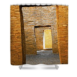 Chaco Canyon Doorways Shower Curtain