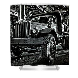 Chain Drive Sterling Shower Curtain