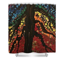 Chakra Tree Shower Curtain
