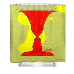 Chalice - Da Shower Curtain