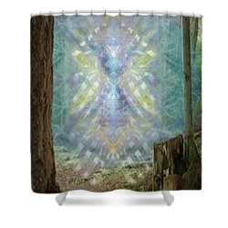 Chalice-tree Spirt In The Forest V2 Shower Curtain