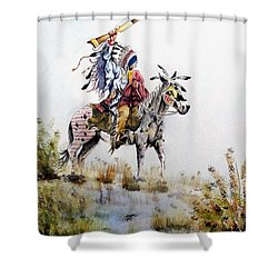 Challenge Shower Curtain by Jimmy Smith