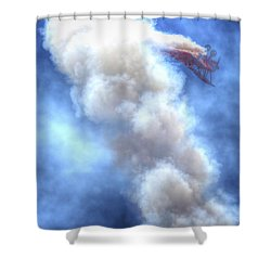Challenge The Four Forces Shower Curtain