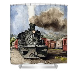 Chama Arrival Shower Curtain