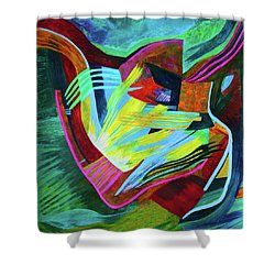 Chambers Of The Heart Shower Curtain
