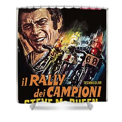 Champions Rally Shower Curtain