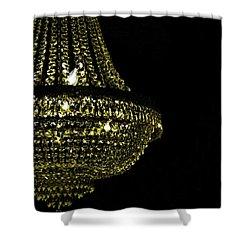Chandelier Art Shower Curtain by JAMART Photography