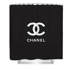 b8c7bf8c4010 Chanel - Black And White 03 - Lifestyle And Fashion Shower Curtain