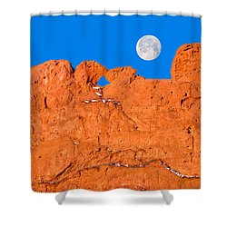 Chang-o, The Chinese Moon Goddess  Shower Curtain