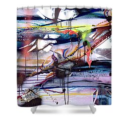 Change In The House Of Flies Shower Curtain