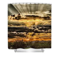 Shower Curtain featuring the photograph Changes by Michael Rogers
