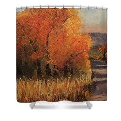 Changing Season Shower Curtain