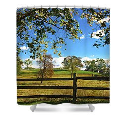 Changing Seasons Shower Curtain by Bill Cannon