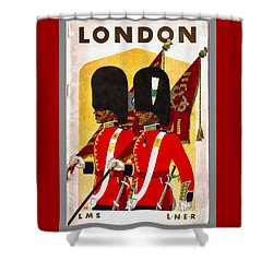 Changing The Guard London - 1937 Shower Curtain