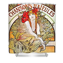 Chansons D'aieules Shower Curtain