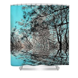Shower Curtain featuring the photograph Chaos  by Elfriede Fulda