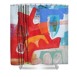 Chaos Theory#1 Shower Curtain by Jane Davies