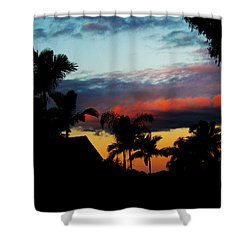 Chapel Hill Afternoon Shower Curtain