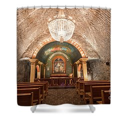 Shower Curtain featuring the photograph Chapel  by Juli Scalzi