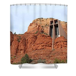 Chapel Of The Holy Cross Shower Curtain