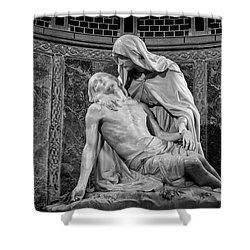 Chapel Of The Pieta 2 Shower Curtain