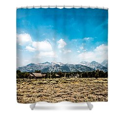 Shower Curtain featuring the photograph Chapel Of The Transfiguration by Cathy Donohoue