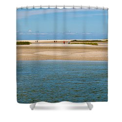 Chapin Beach Cape Cod Shower Curtain by Michelle Wiarda