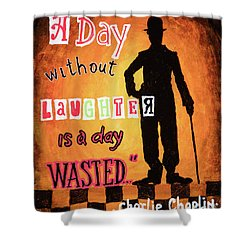 Chaplin Shower Curtain