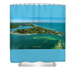 Chapoquoit Island Shower Curtain