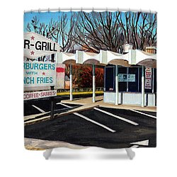Char Grill Hillsborough St Shower Curtain