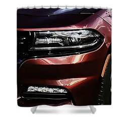 Charger Shower Curtain