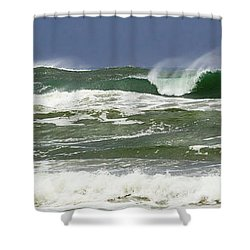 Charging Forward Shower Curtain