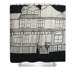 Charles A. Spies Historical Menominee Home. Shower Curtain by Jonathon Hansen