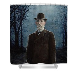 Charles A. Squires Shower Curtain