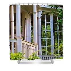 Charleston Architecture. Old Naval Housing Shower Curtain
