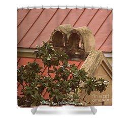 Charleston Chimneys 102 Shower Curtain