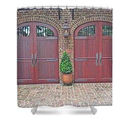 Charleston Doors Shower Curtain