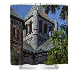Charleston Historic Church Shower Curtain
