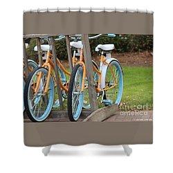 Charleston Rides Shower Curtain