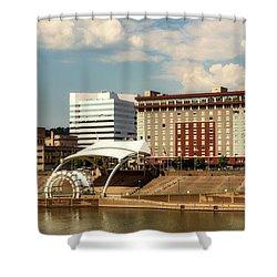 Charleston West Virginia Shower Curtain by L O C