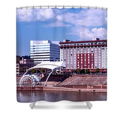 Charleston West Virginina Shower Curtain by L O C