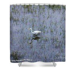 Charleston Wildlife 1 Shower Curtain