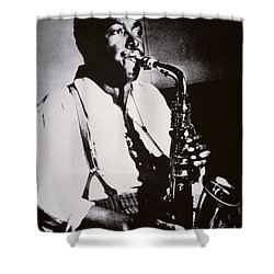 Charlie Parker Shower Curtain