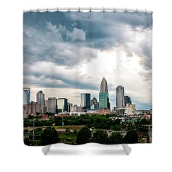 Charlotte In The Clouds Shower Curtain