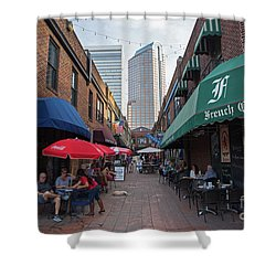 Charlotte, North Carolina Shower Curtain
