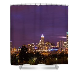 Charlotte, North Carolina Sunrise Shower Curtain