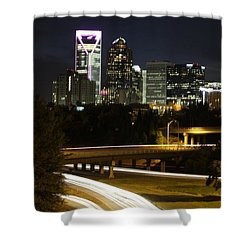 Charlotte's Skyline Shower Curtain