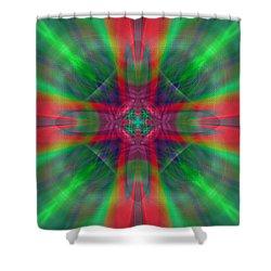 Charmed Luminescence Shower Curtain